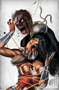 Blackest Night: Wonder Woman #1